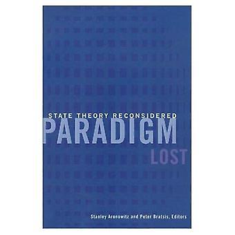 O paradigma perdido: Teoria estada reconsiderado