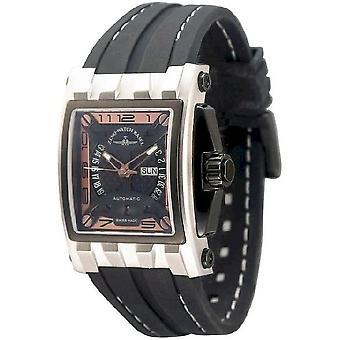 Zeno-watch mens watch mistery rectangular automatic 4239-i6
