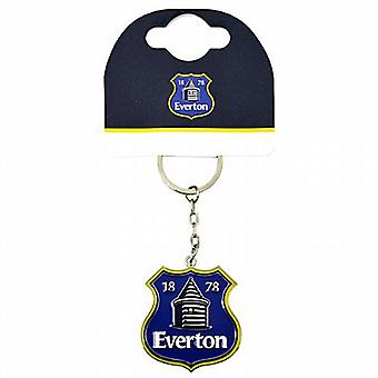Everton FC Crest Metall / Emaille Keyring (bb)