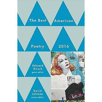 Best American Poetry 2016 by David Lehman - 9781501127564 Book