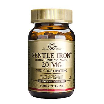 Solgar, Gentle Iron 20 mg Vegetable Capsules , 90