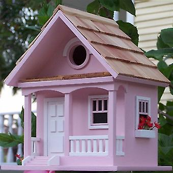 Cotton Candy Cottage Birdhouse