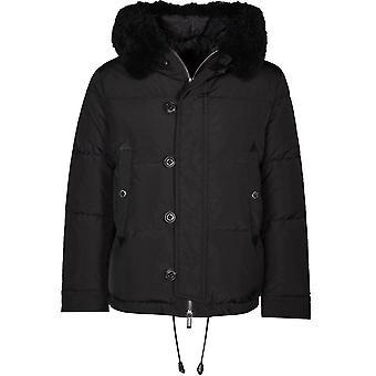 Dsquared2 Padded Parka Jacket Black