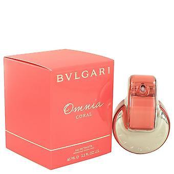 Omnia Coral by Bvlgari Eau De Toilette Spray 2.2 oz / 65 ml (Women)