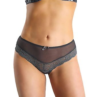 Nessa NO1 Women's Omena Grey Knickers Panty Full Brief