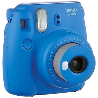 Fujifilm instax mini 9 camera instant mirror development for selfie close-up lens guarantee  blue color