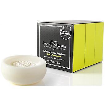 Pack Of 3 Refills Soap Raser - Granada and Green Lemon