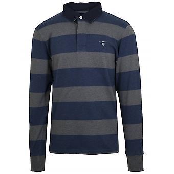 Gant GANT blau & grau schwere Teppich Shirt