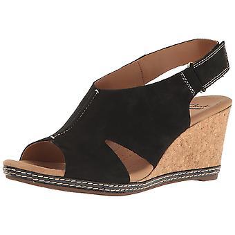 Clarks Womens Helio Float 4 Open Toe Casual Platform Sandals
