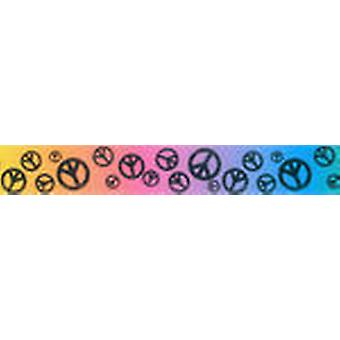 Scatter Peace Sign Ribbon 7 8