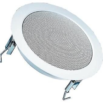 ELA flush mount speaker Visaton DL 18/2 70 W 100 V White 1 pc(s)