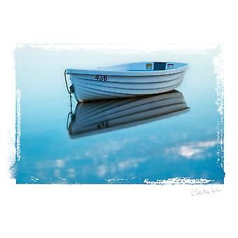 Artist Series Photo Card W/Envelope-Skiff C0008E