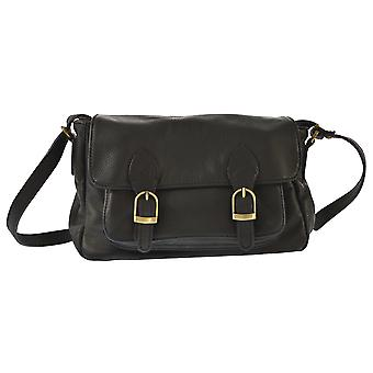 CTM ladies ' shoulder bag made of genuine leather made in italy, shoulder bag