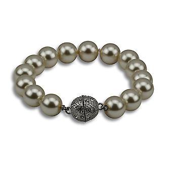 Selene chunky silver bead bracelet