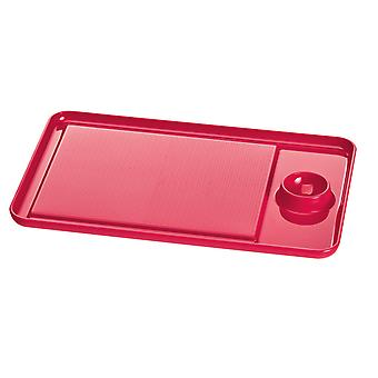 Red Koziol eiBRETT Snack Board