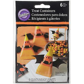 Cinched Pouches 6/Pkg-Candy Corn W20446