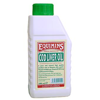 Equimins levertran 500ml