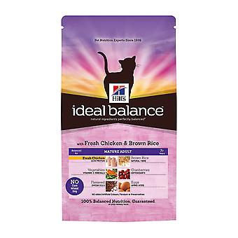 Hill's Ideal Balance Feline Mature Adult With Fresh Chicken And Brown Rice 2kg