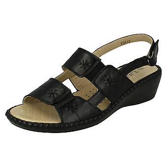 Damer Eaze Casual åben tå sandaler
