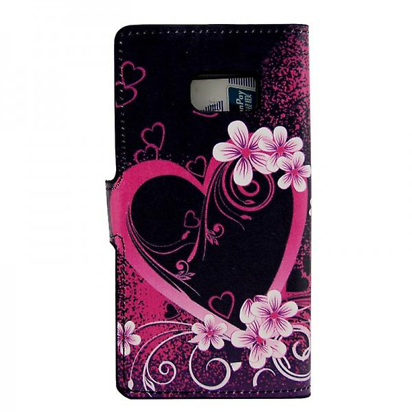 Cover wallet pattern 17 for Samsung Galaxy S6 G920 G920F