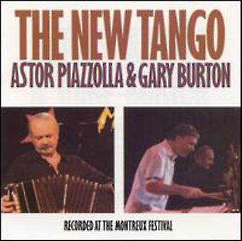Piazzolla/Burton - New Tango [CD] USA import