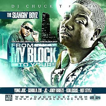Yung Joc & Gorilla Zoe - From My Block to Yours [CD] USA import