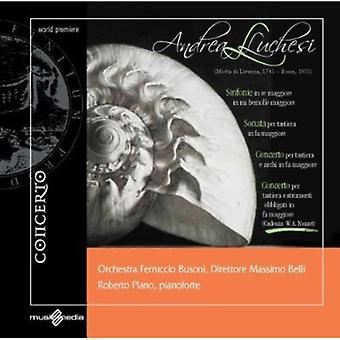 Andrea Luchesi - Andrea Luchesi: Sinfonie; Sonata; Koncerter [CD] USA importerer
