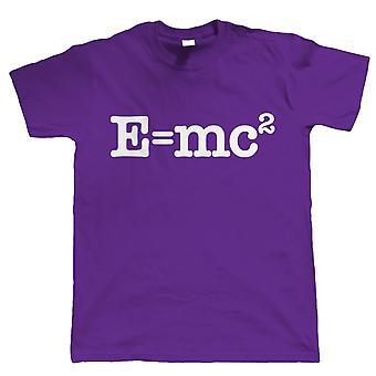 E=MC2, Mens Novelty Tshirt