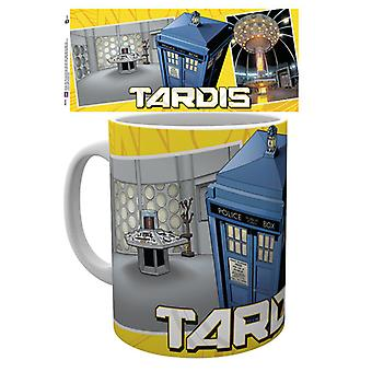 Doctor Who Tardis Scene Mug