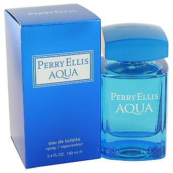 Perry Ellis Men Perry Ellis Aqua Eau De Toilette Spray By Perry Ellis