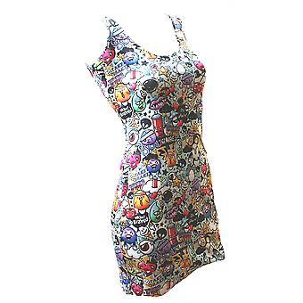 Monkey Business - GRAFFITI - Bodycon Dress - Multicoloured