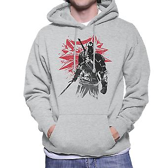 The Witcher Sumi E Geralt Men's Hooded Sweatshirt