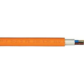 Sheathed cable NHXH-J 5 G 2.50 mm² Orange Faber Kabel
