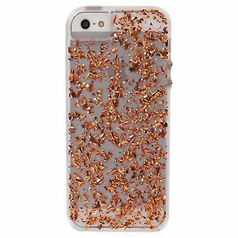 Case-Mate Karat Etui Apple iPhone 5/5 s/SE - Rose Gold (feuille d'or 24K)