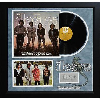 The Doors - Waiting for the Sun - Signed Album - Framed