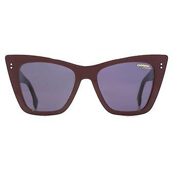 Carrera 1009 Cateye Sunglasses In Opal Burgundy