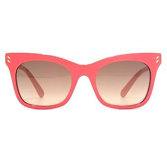 Stella McCartney Essentials Peaked Cateye Sunglasses In Pink
