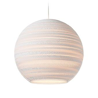 Graypants White Moon Pendant Light 18