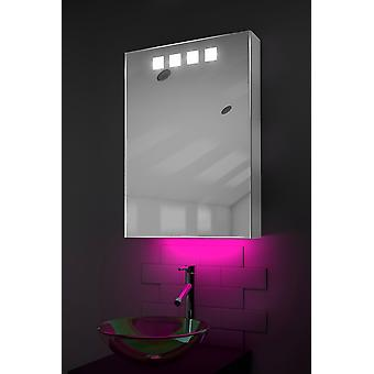 Ambient Demist Cabinet With Sensor & Internal Shaver Socket k393