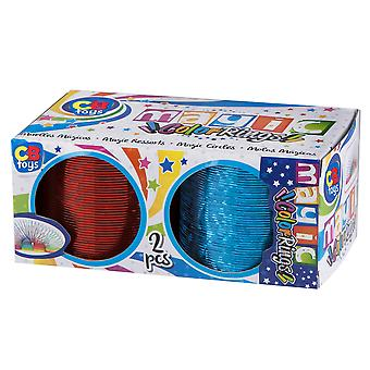 Colorbaby Pack 2 Muelles mágicos (Toys , Boardgames , Skills)