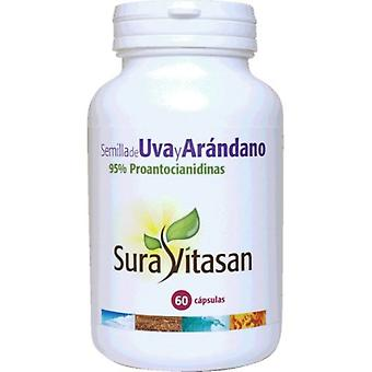 Sura Vitasan Cranberry and Grape Seed 60cap.