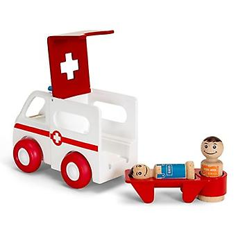 BRIO My Home Town - Light and Sound Ambulance  30381