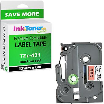 Compatible TZe-431 12x8m tape Cartridge for Brother PT-2500PC Label