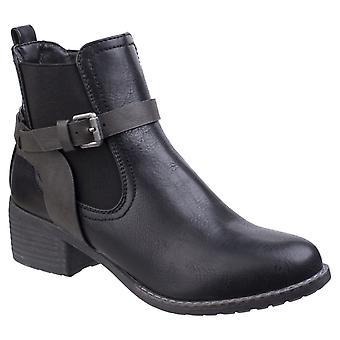 Divaz Ivana damer blokere hæl støvlet