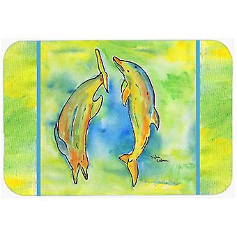 キャロラインズ宝物 8380 CMT イルカ台所または浴室マット 20 x 30 8380
