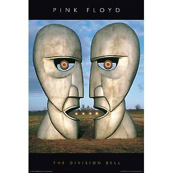 Pink Floyd - Division Bell Poster Poster afdrukken