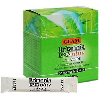 Guam Britannia Dren Plus Green Tea