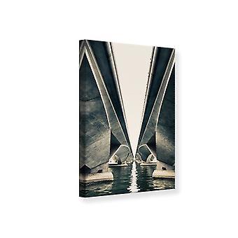 Canvas Print Bridge Art