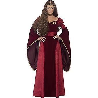 Средневековые дамы королевы принцесса костюм