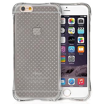 Yousave iPhone 6 i 6s żel poduszki powietrznej - Smoke Black Case